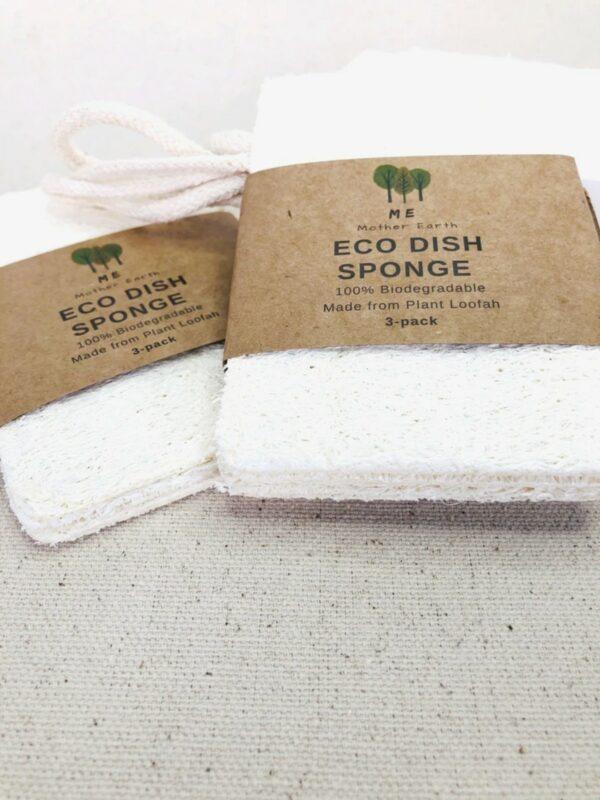 Compostable Loofah Dish Sponge 3-Pack