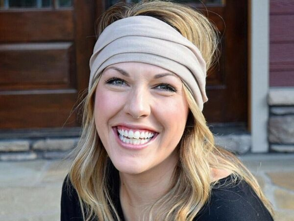 Khaki Tube Headband