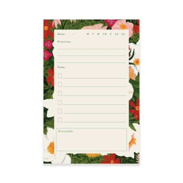 Lush Garden Writing Notepad