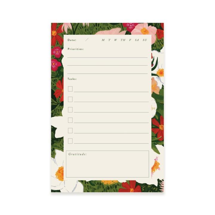 Lush Garden Notepad