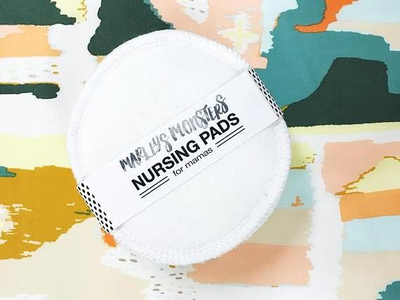 Nursing Pads: 3 Pair – White