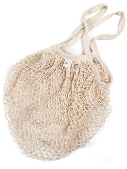 Organic Cotton Reusable Everyday Net Tote