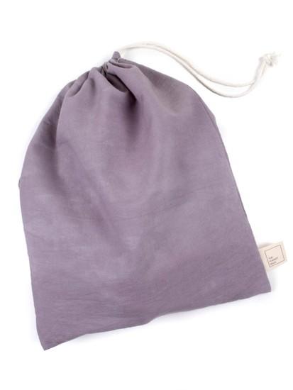 Large Organic Cotton Muslin Produce/Bulk Bag – Lavender