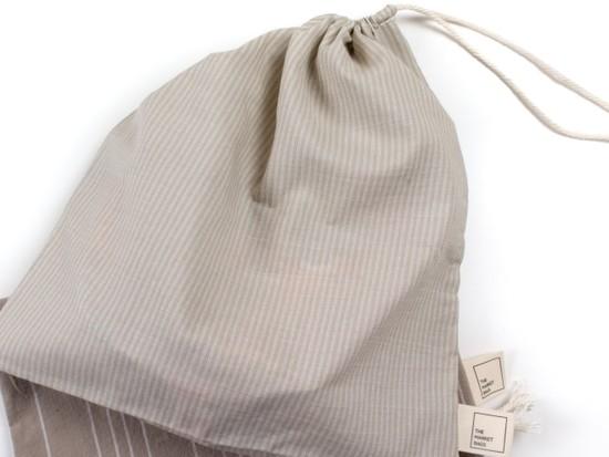Upcycled Fabric Reusable Produce Bag – Tan
