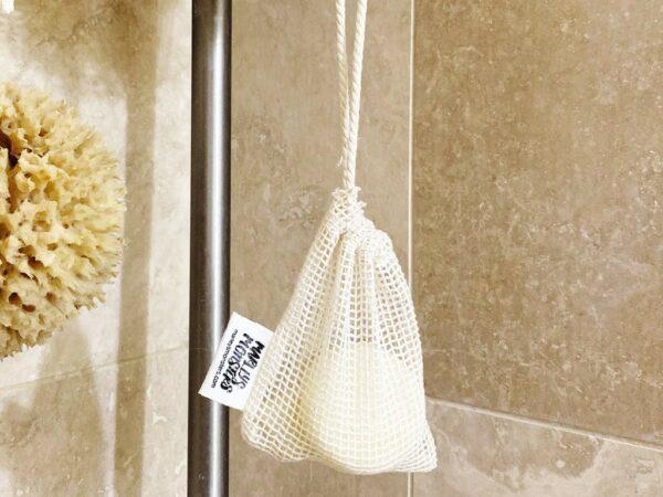 Handmade Soap Saver: Organic Cotton