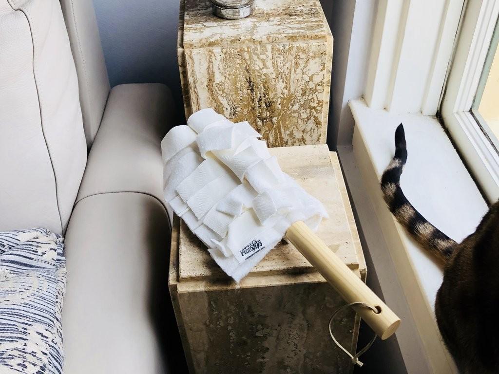 Washable Duster: Bamboo Fleece – Duster Head + Handle
