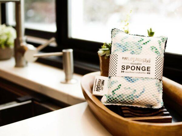 Handmade Washable Sponge: Single - Surprise Print