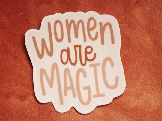 Women Are Magic Sticker