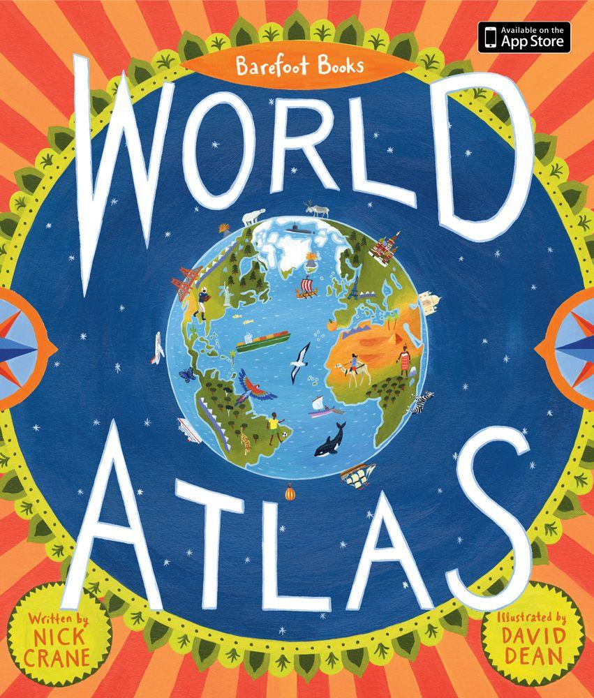 Barefoot Books World Atlas – Hardcover