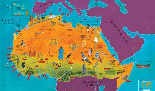 Barefoot Books World Atlas - Hardcover
