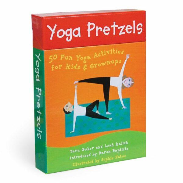 Yoga Pretzels Activity Deck