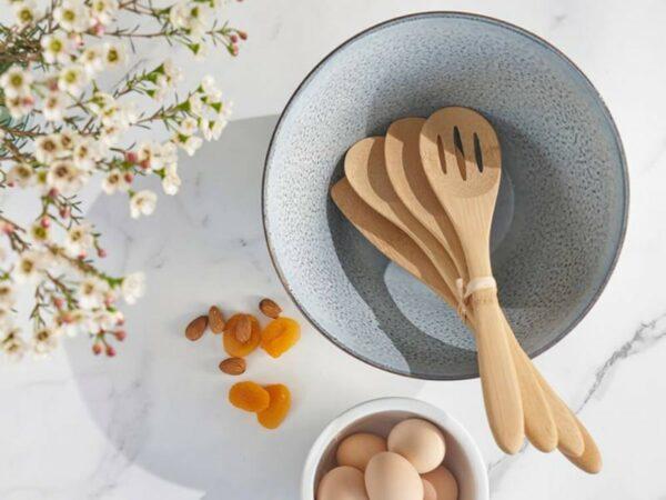Organic Cooking & Kitchen Utensils - Set of 4
