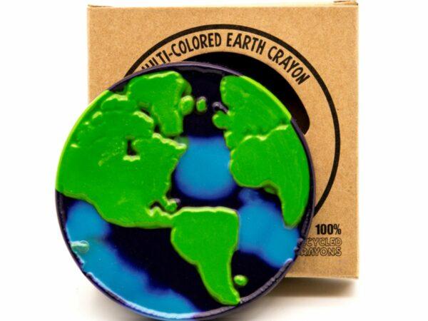 Recycled Jumbo Crazy Crayon - Earth