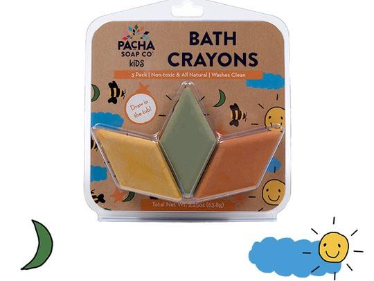 Colourful Bath Crayons for Kids - 3 Pack