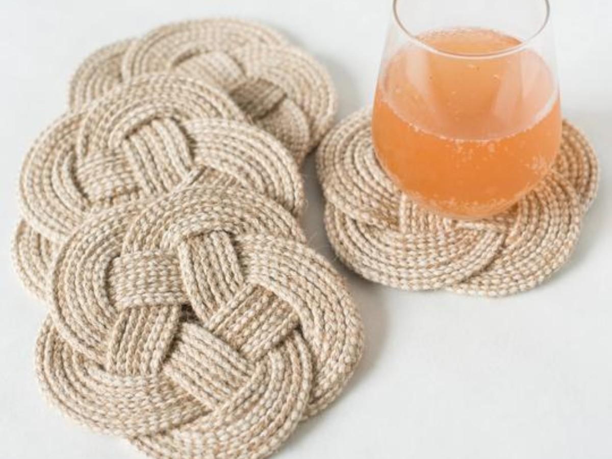 Abundance Weave Coasters - Set of 4