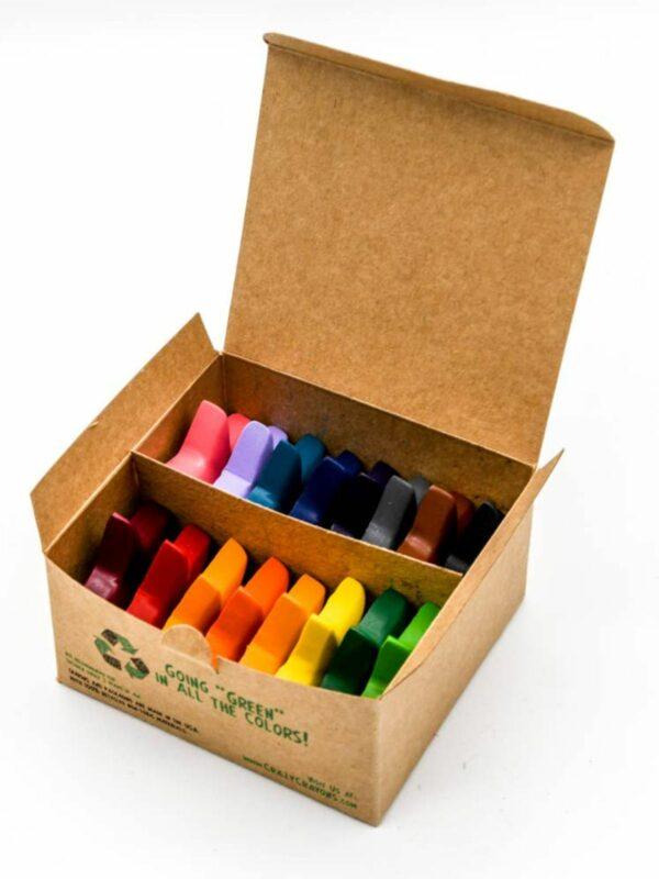 Recycled Eco Stars Crayon Set  - Box of 16