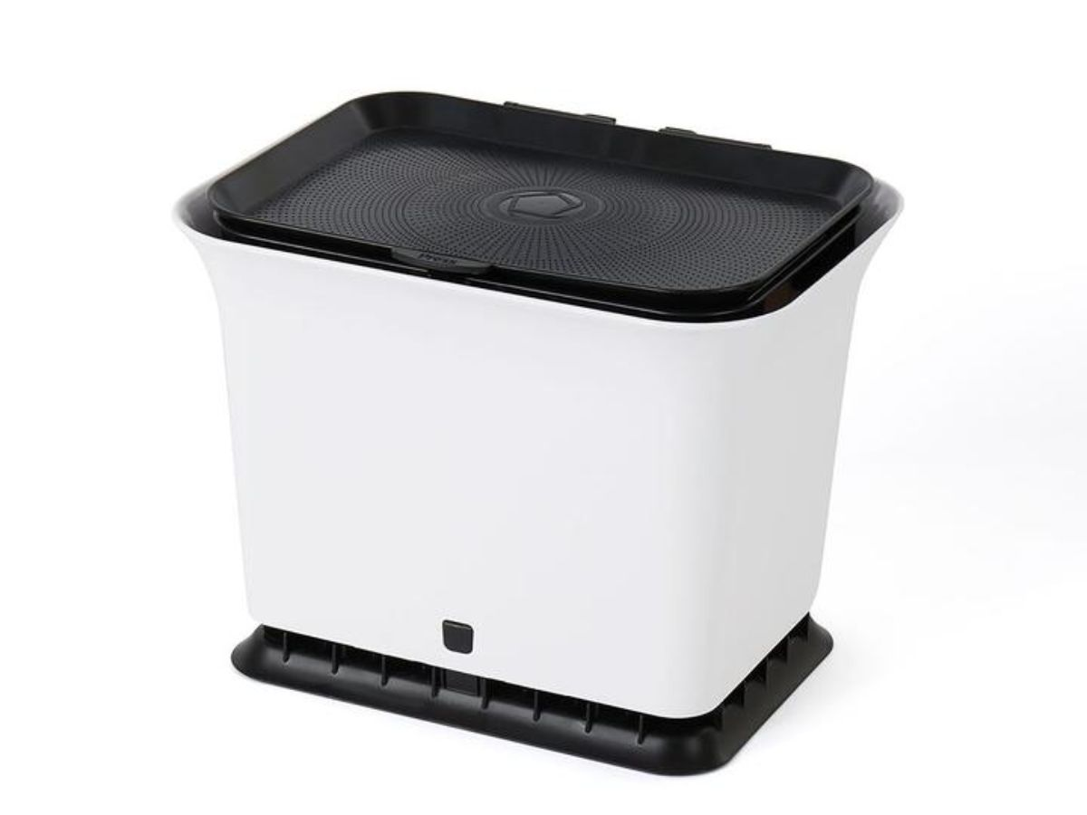 Fresh Air Odor-Free Kitchen Compost Collector