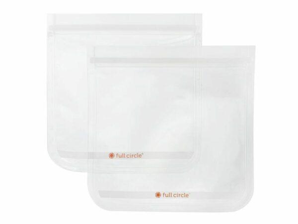 Ziptuck Reusable Sandwich Bag (2 Pack) - Clear