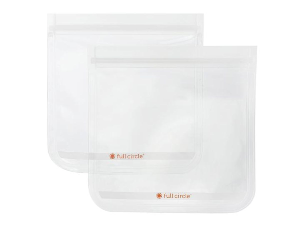 Ziptuck Sandwich Bag (2 Pack) – Clear