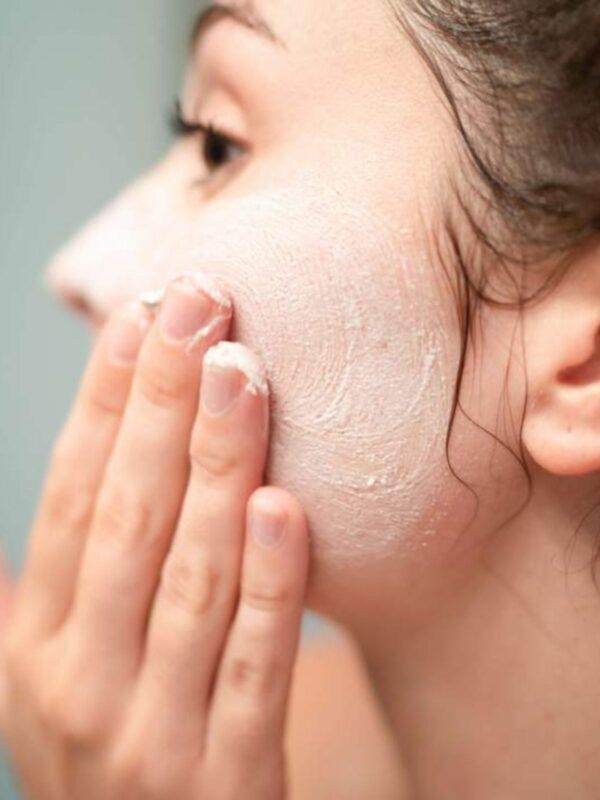 Natural Whipped Soap + Scrub - Lemongrass Peppermint