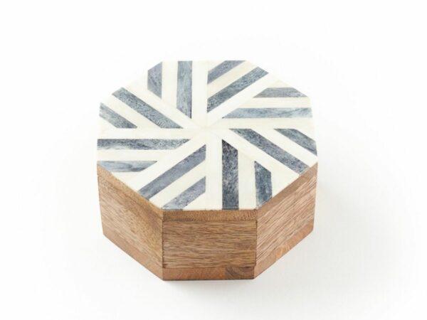 Rudra Storm Wooden Keepsake Box