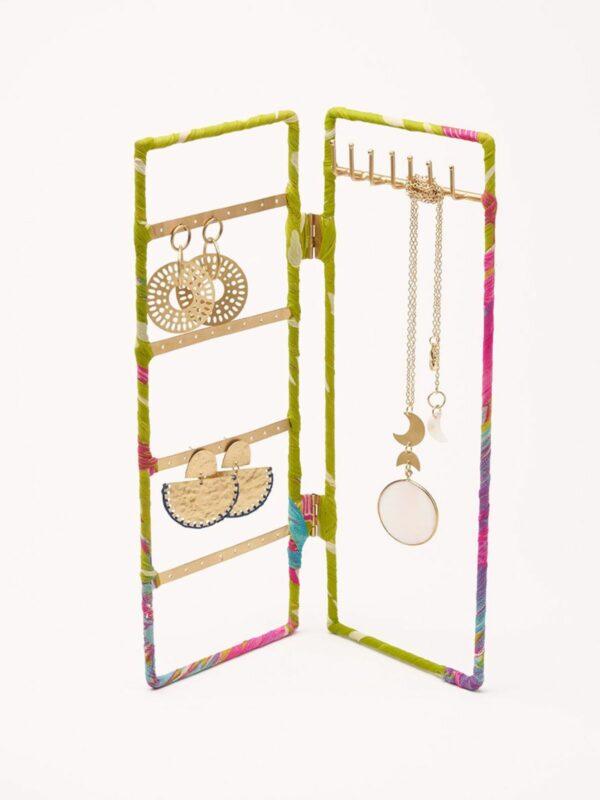 Upcycled Sari Jewelry Organizer