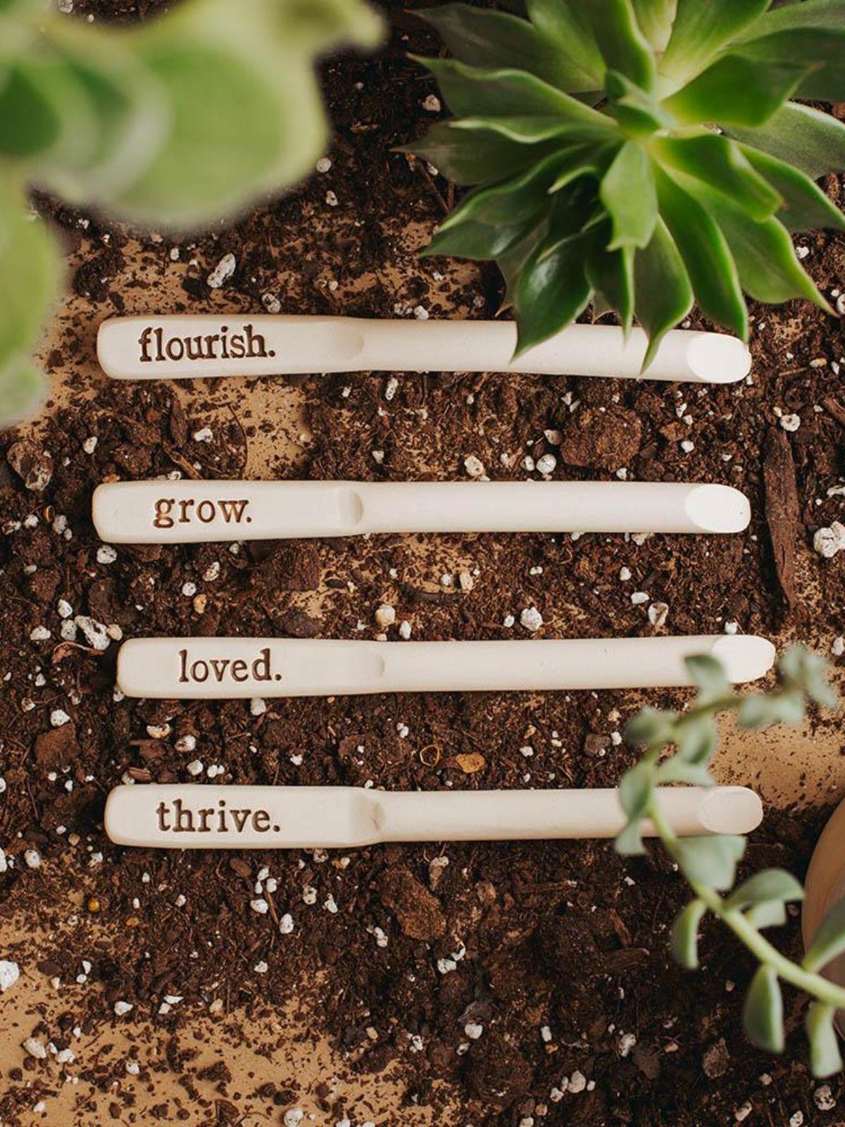 Garden Message Marker – Grow