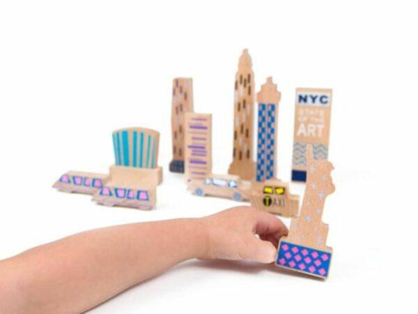 Wanderlust Handcrafted Wood + Felt Themed New York Play Set