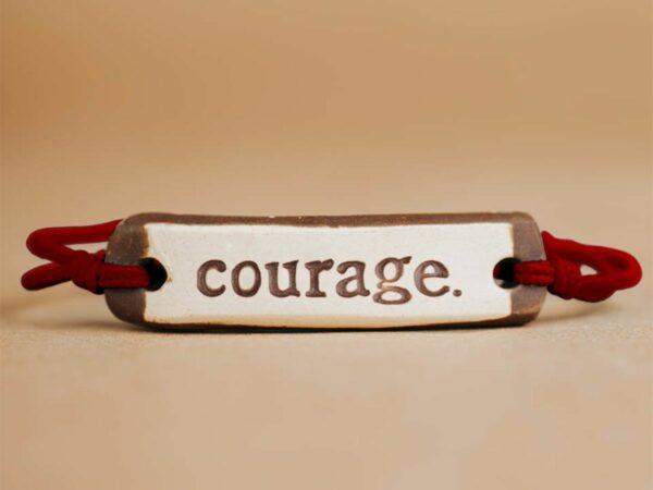 Courage Original  Ceramic Bracelet