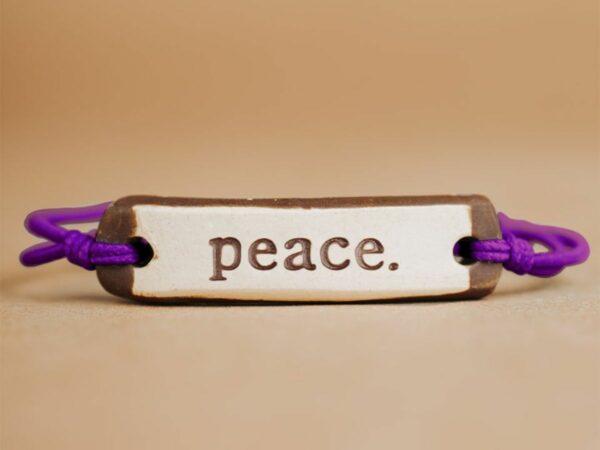 Peace Original Ceramic Bracelet