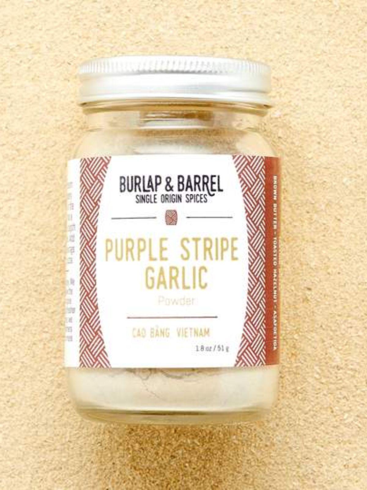 Purple Stripe Garlic Powder