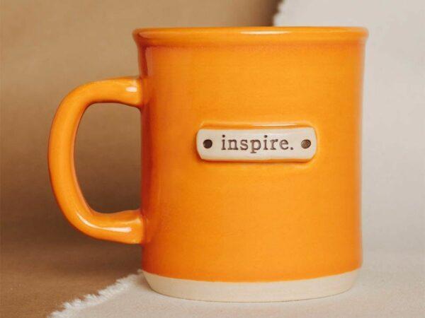 Inspire Tagged Handmade Mug