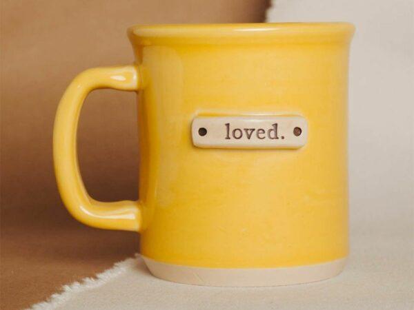 Loved Tagged Handmade Mug