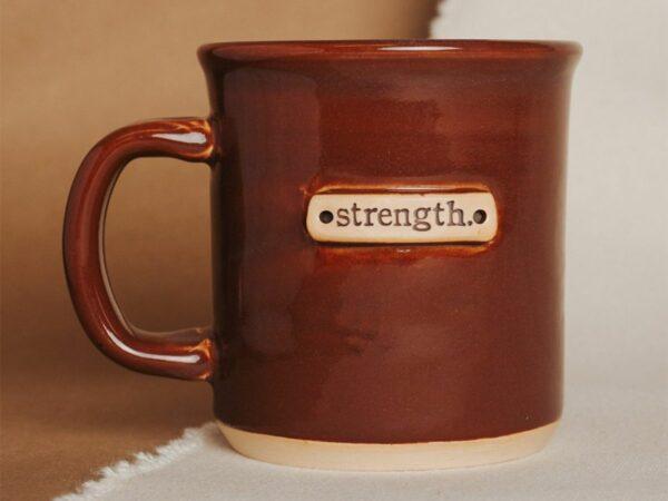 Strength Tagged Mug