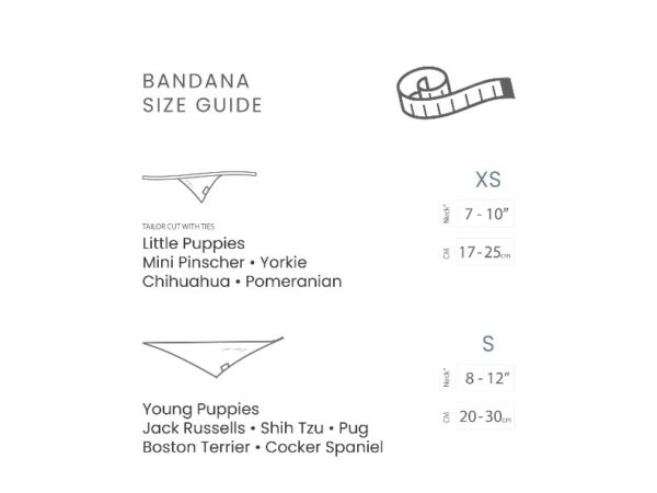Eggnog Pet Bandana - Medium