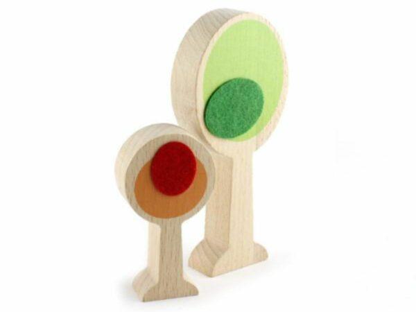 Wanderlust Handcrafted Wood + Felt Themed Safari Play Set