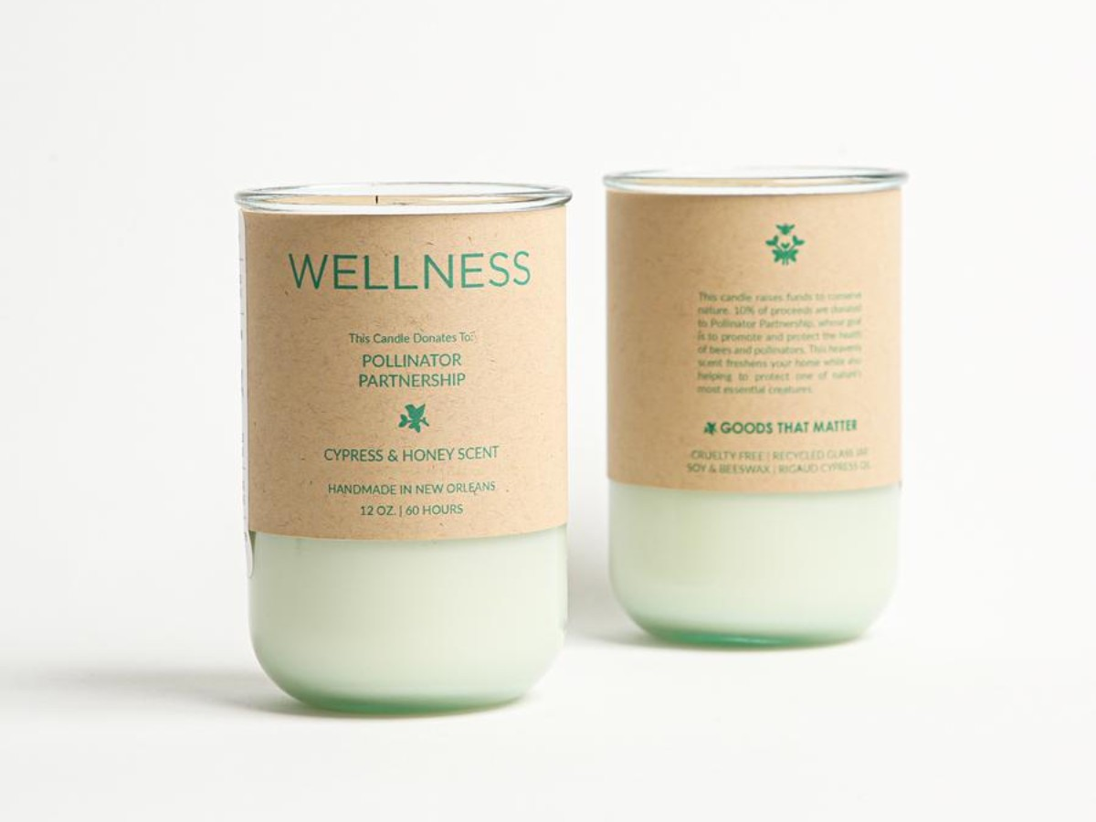 WELLNESS Soy Candle – Rigaud Cypress Scent