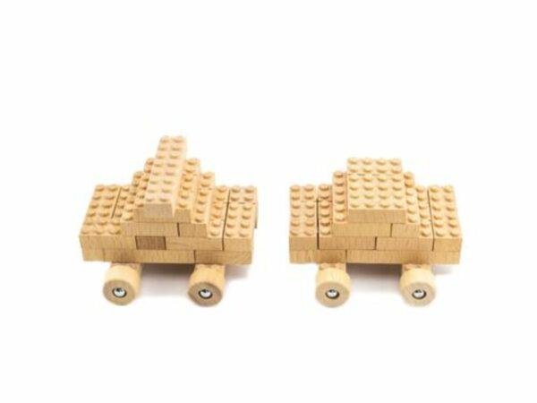 Bamboo Building Eco-Bricks - 45 Piece