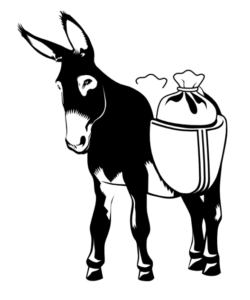 The Guudguuds donkey is a symbol to do good