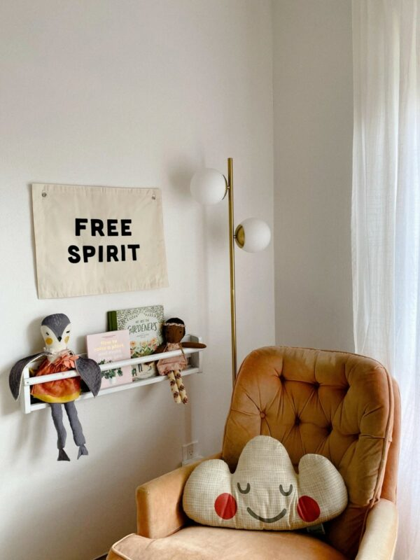 Free Spirit Natural Canvas Banner