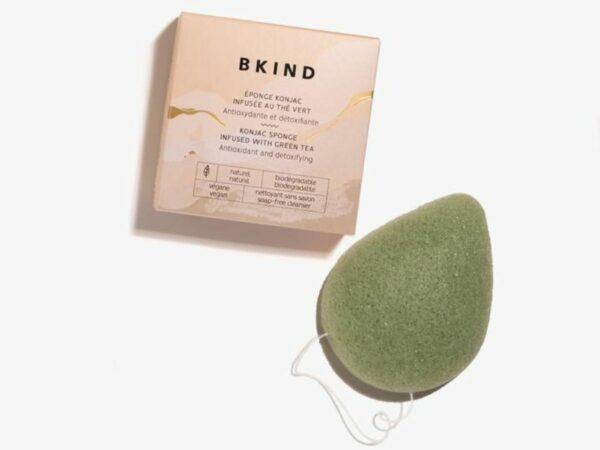 Exfoliating Konjac Facial Sponge - Green Tea