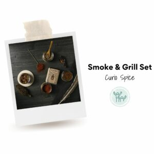 Smoke & Grill Set by Curio Spice. Ethical spices that empower.
