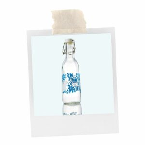 The Peace Love Glass Water Bottle is a calming and practical gift for teachers.