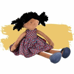 The Leota Doll is a safe toy option for babies and toddlers that is non-toxic and eco-friendly