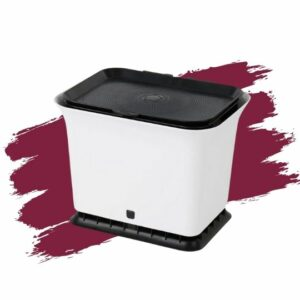 Full Circle Home's Odor-Free Kitchen Compost Collector Bin. Eco-friendly gift.
