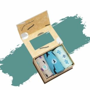 Conscious Step's Organic Cotton Kids Socks That Protect the Oceans. Eco-friendly gift.