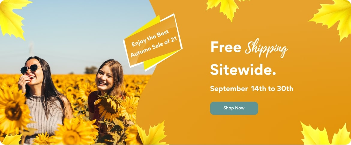 Summer sale - free shipping sitewide