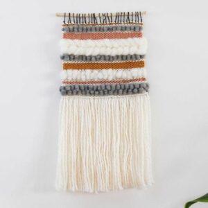 Krochet Kid's Honeysuckle Woven Wall Tapestry. Ethical Shopping.