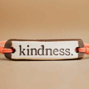 Mudlove's Kindness Original Ceramic Bracelet. Ethical Shopping.