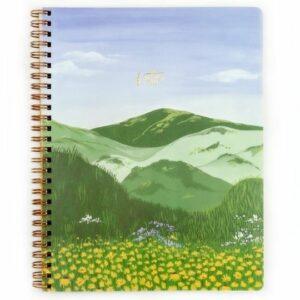 Pen+Pillar's Meadow Handmade Notebook. Ethical Shopping.